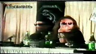 Metallica - Press Conference - Argentina - 1993  --- PART 3 ---