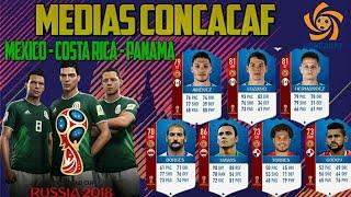 Ratings CONCACAF FIFA World Cup 2018 - Medias México, Costa Rica y Panamá FIFA World Cup 2018