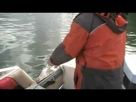 Prawning In Howe Sound, B.C.