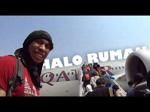 Halo Rumah | Moskow-Doha-Jakarta-Makassar | Travel Vlog