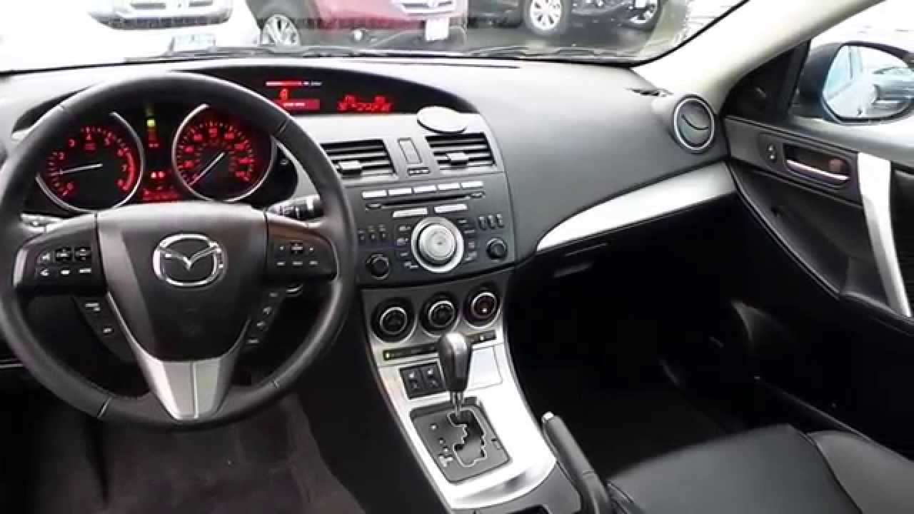 2010 mazda mazda3 graphite mica stock 31593a interior youtube