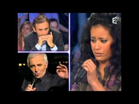 Amel Bent - On n'est pas couché 1er mars 2008 #ONPC