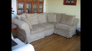 Deep Sectional Sofa,