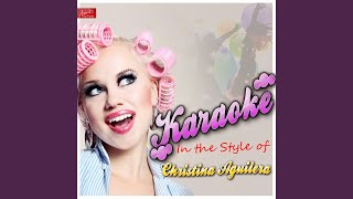 Infatuation (In the Style of Christina Aguilera) (Karaoke Version)