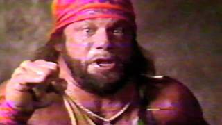 WWF MACHO MAN RANDY SAVAGE part 1 of 2 all promos going into wrestlemania 5 I HATE YOU HULK HOGAN!