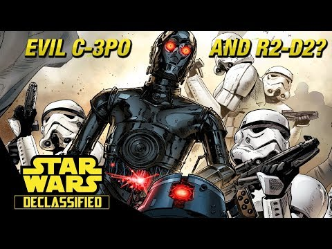 The Evil C-3PO and R2-D2: Darth Vader
