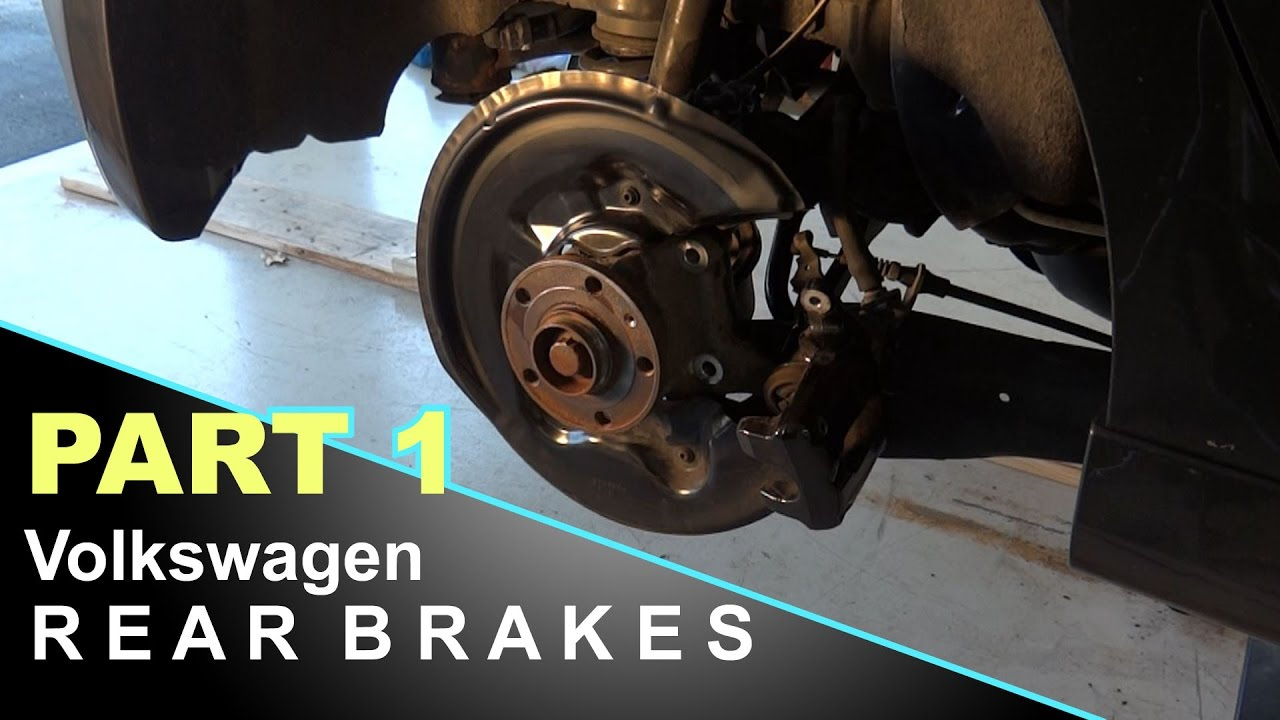 When To Replace Brake Pads >> How To Replace Volkswagen Brake Rotors and Pads   Golf R ...