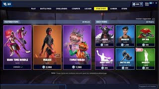 NEW*Buckets Emote & Malice Skin Back! Fortnite Item Shop May 23, 2019