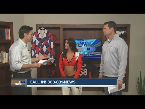 Angela, from the Denver Broncos cheerleaders talks about Cheer for the Troops