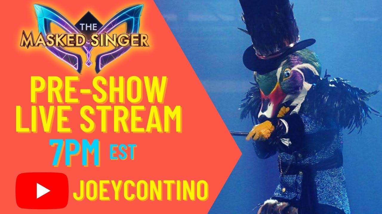 Download The Masked Singer Season 6 Episode 5 - Pre-Show Live Stream