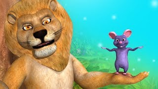 The Lion and the Mouse Bengali Stories for Kids   Infobells