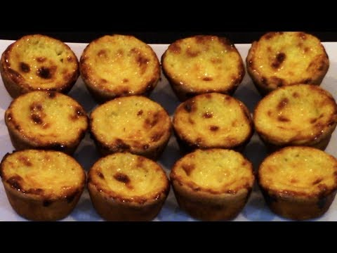 How To Make Portuguese Custard Tarts - Pastel De Nata 葡萄牙蛋挞简单做法