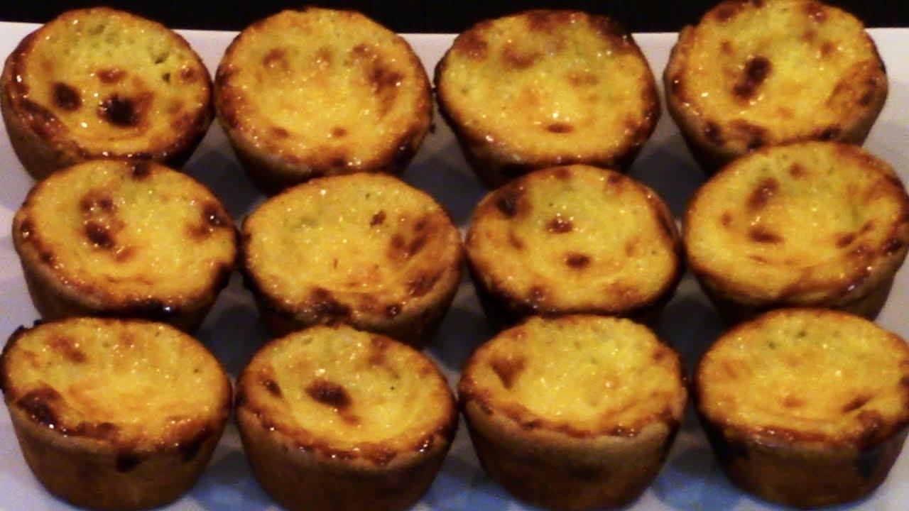 How to make portuguese natas itsallaboutportugesedeserts - How To Make Portuguese Egg Custard Tarts Pastel De Nata