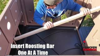 Urban Chicken Coop Assembly Video
