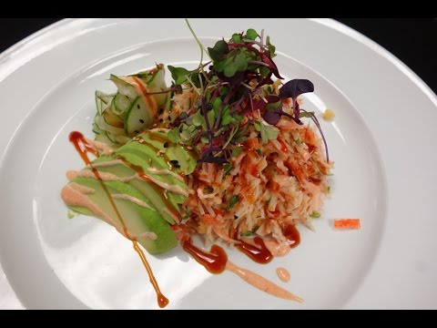 Crunchy Crab Salad - How To Make Sushi Series