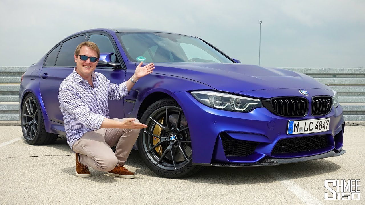 This Is The New Bmw M3 Cs First Drive