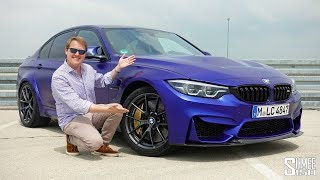 THIS is the New BMW M3 CS! | FIRST DRIVE