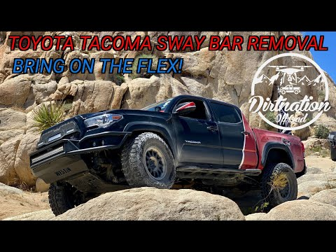 Flex Over Safety? Toyota Tacoma Sway Bar Removal, What Do You Need To Know!