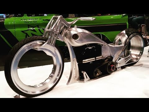 Double Hubless Wheels Motorcycle Ballistics Cycles On