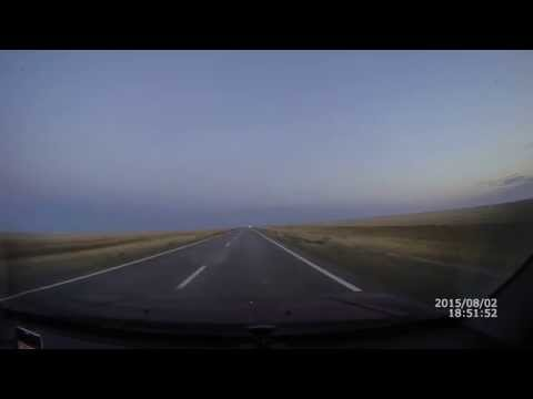 Автодорога Актобе Байконур Казахстан ч.21