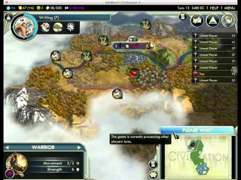 Let's Play Civilization 5 26:1 - Korea (Sejong)