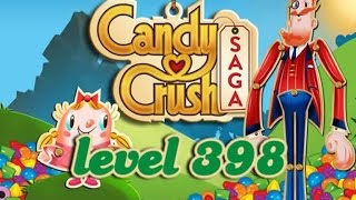 Candy Crush Saga Level 398 - ★★ - 126,640
