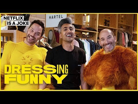'Big Mouth' Creators Nick Kroll & Andrew Goldberg - 'Dressing Funny with Tan France'