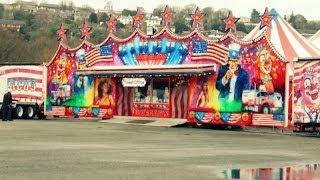 ♥  Cyrk - Circus Vegas - Motory, Tańce , Liny ,Miki , Klaun i więcej  ♥