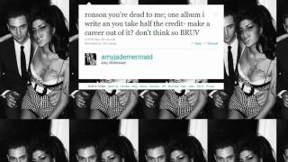Amy Winehouse apologises to Mark Ronson