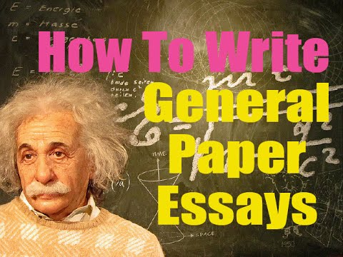 how to write general paper essays  youtube how to write general paper essays