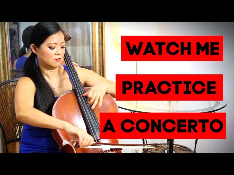Watch Me Practice (Haydn C Cello Concerto) | Cellist Wendy Law