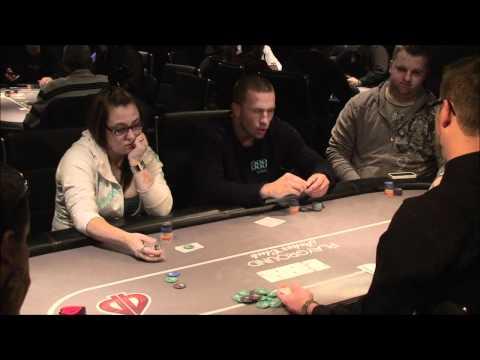 George StPierre Playing Poker at Playground Poker Club