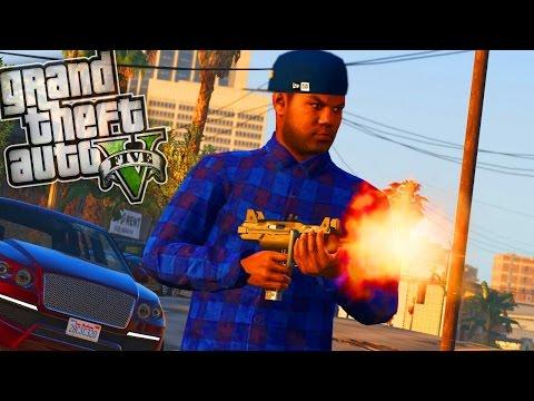 Crips hood jobs! - GTA 5 Gang Mod - Day 106