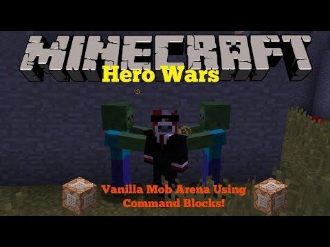 Minecraft   Mob Arena Mini-Game   Command Block Creation(1.10)