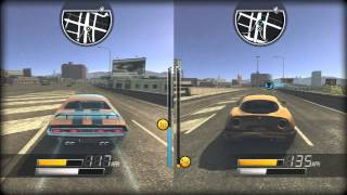 Driver: San Francisco PS3 2 Player Split Screen Part 6 (Tag, Financial) Challenger VS. Charger
