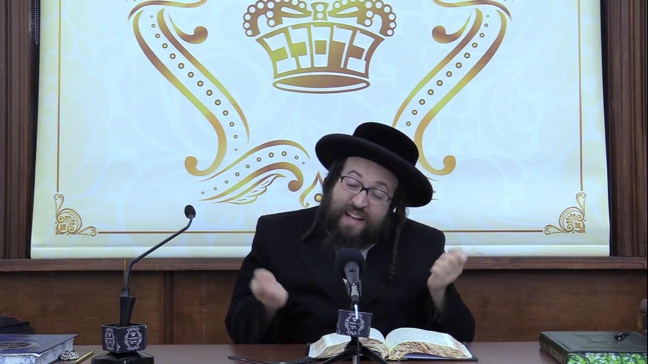 ר' יואל ראטה - כ'האב גוטע תירוצים - ד' בהעלותך תשע''ט - R' Yoel Roth