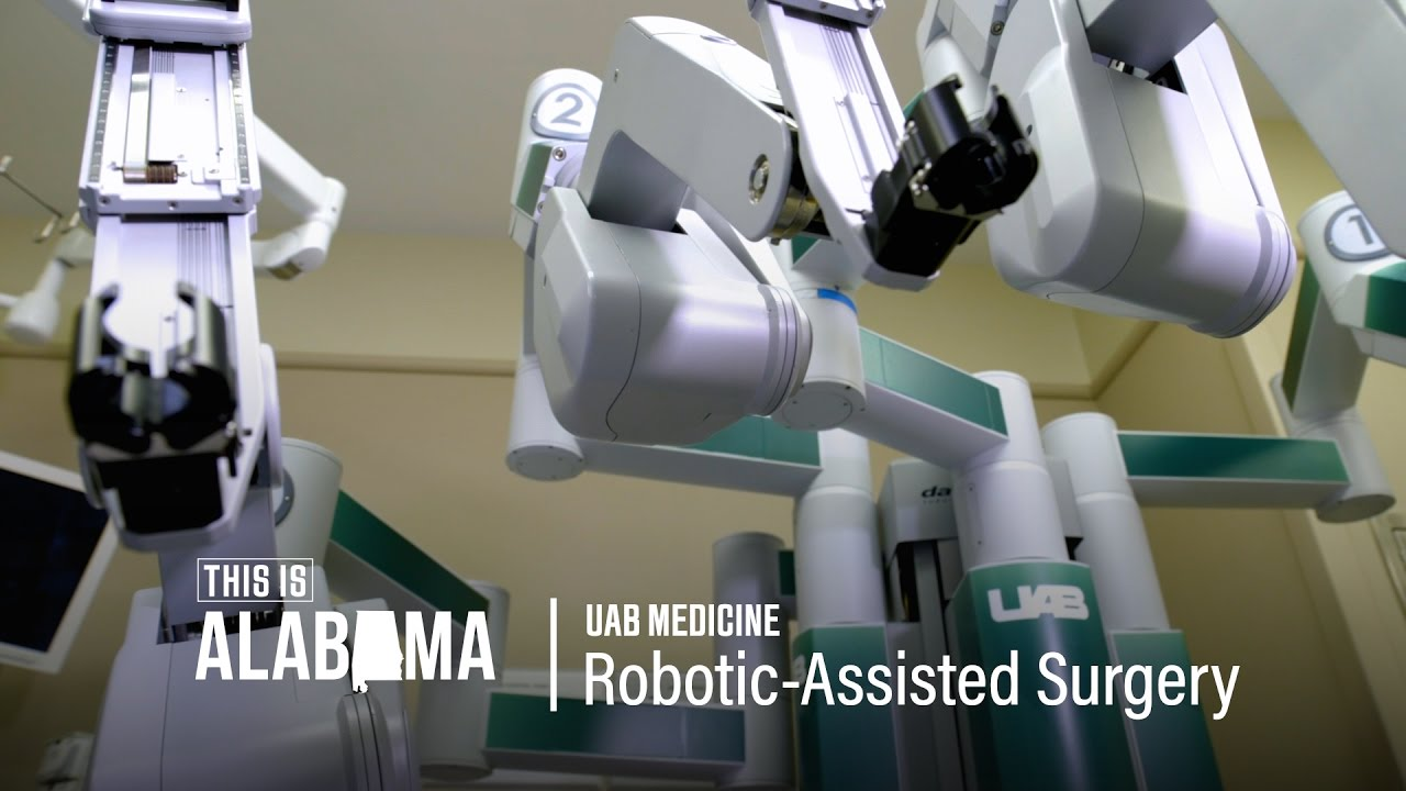 UAB Robotic Assisted Surgery | This is Alabama