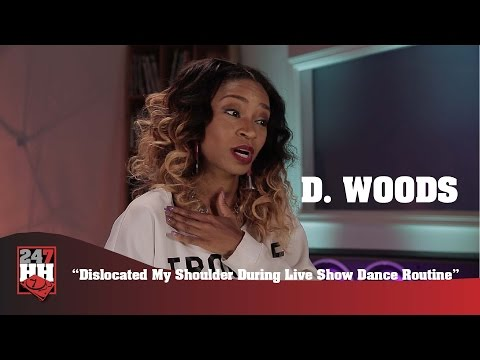D. Woods - Dislocated My Shoulder During Live Show Dance Routine (247HH Wild Tour Stories)
