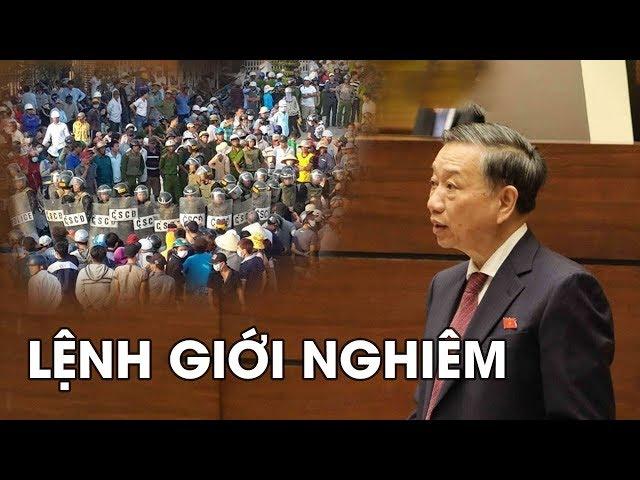 TIN KHẨN NỬA ĐÊM ⚠️Tướng Tô Lâm cho quân đội LÙNG SỤC toàn tỉnh Bình Thuận #VoteTv
