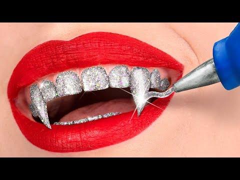 Вампир в реальной жизни / 11 лайфхаков и пранков для вампира