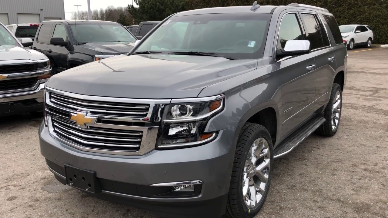 2018 Chevrolet Tahoe Premier Satin Steel Metallic Roy ...