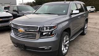 2018 Chevrolet Tahoe Premier Satin Steel Metallic Roy Nichols Motors Courtice ON