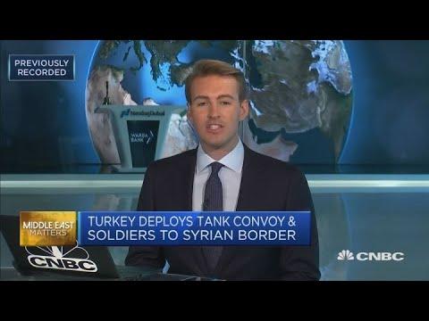 Turkey deploys tank