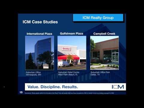 Webinar Series   Part 9   ICM IX Real Estate Trust