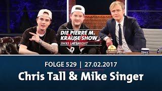 Die Pierre M. Krause Show vom 27.02.2018 mit Chris Tall & Mike Singer