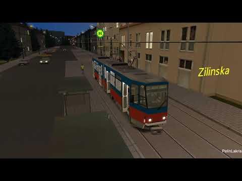 Letsplay #132, OMSI2, Maps: Bratislava 2008 Line:  13 Hlavná Stanica (okružní)