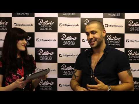 Shayne Ward Interview @ Butlins Bognor Regis Back Together Weekender