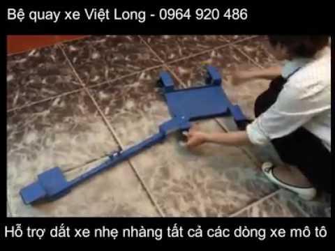 Đồ Chơi Xe - Bệ Quay Xe Việt Long (Thiết Bị Hỗ Trợ Dắt Xe Máy Nhẹ Nhàng)