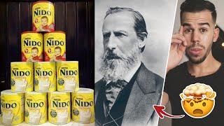 🤯القصة الغريبة المدهشة لمخترع حليب نيدو
