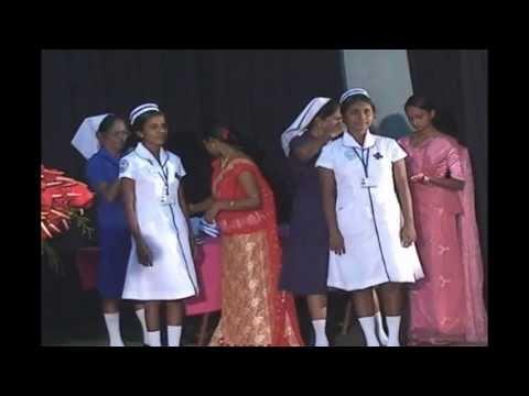 Sri Lanka School of nursing iva - Capping Ceremony (Ratnapura) Cilp 3